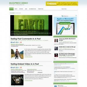 шаблон Ecore для WordPress