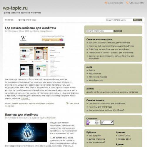 Бесплатный шаблон WordPress Duplexes