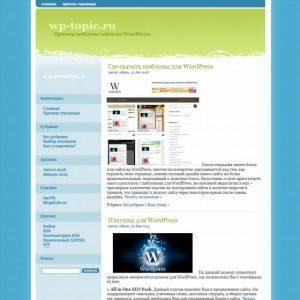 Бесплатный шаблон Wordpress ImJTk