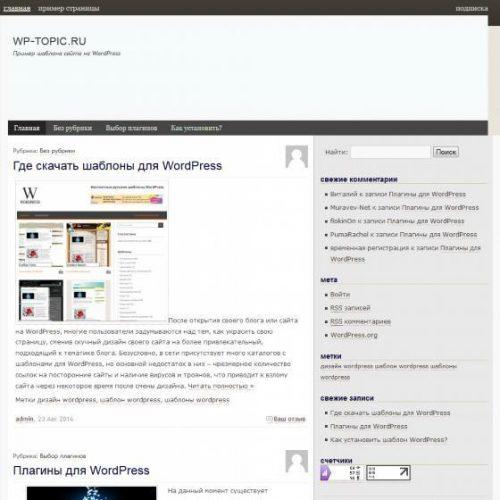 Бесплатный шаблон WordPress Шаблон MountKailash
