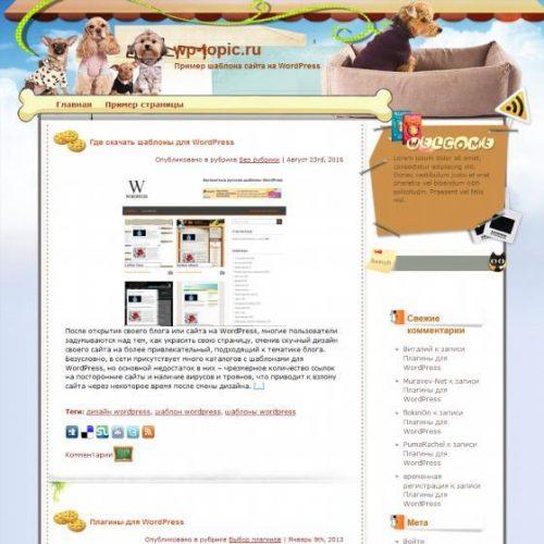 Бесплатный шаблон WordPress Soul Partners