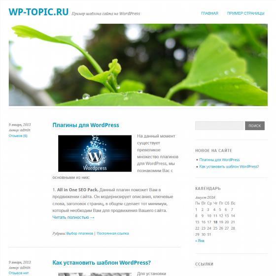 Бесплатный шаблон Wordpress Yoko