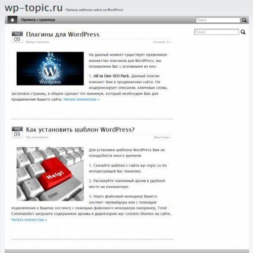 Бесплатный шаблон WordPress Apple — iBlog