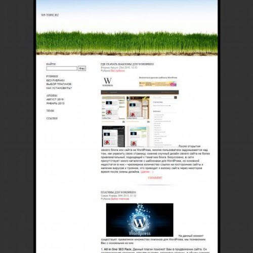 Бесплатный шаблон WordPress Benevolence