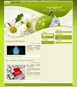 green_diet_theme