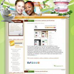 Бесплатный шаблон Wordpress Happiness With Better