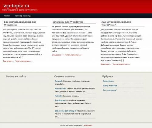 Бесплатный шаблон WordPress Magadine