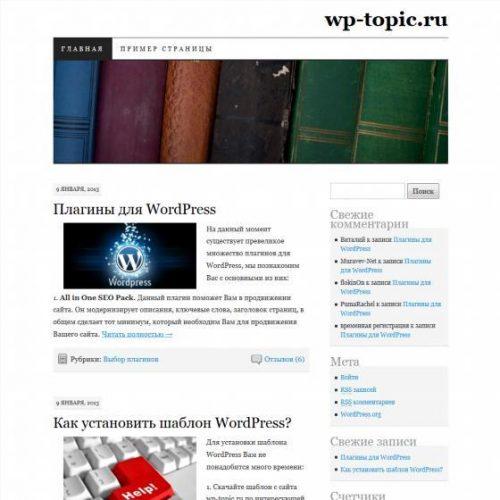 Бесплатный шаблон WordPress Pilcrow