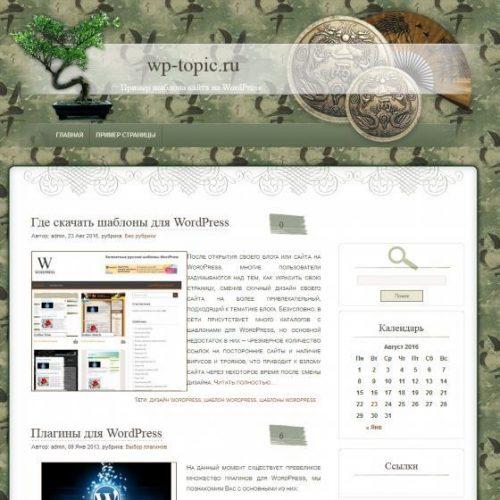 Бесплатный шаблон WordPress Pswish Themes