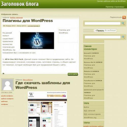 Бесплатный шаблон WordPress Super Fresh