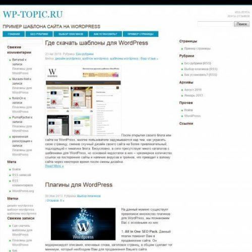 Бесплатный шаблон WordPress Techy People