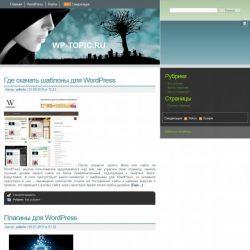 Бесплатный шаблон Wordpress Тема WordPress Leia