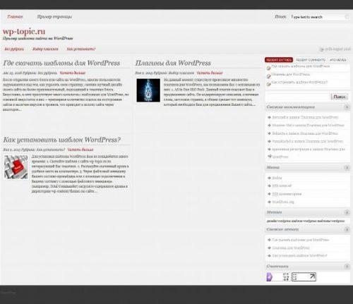 Бесплатный шаблон WordPress Woldo